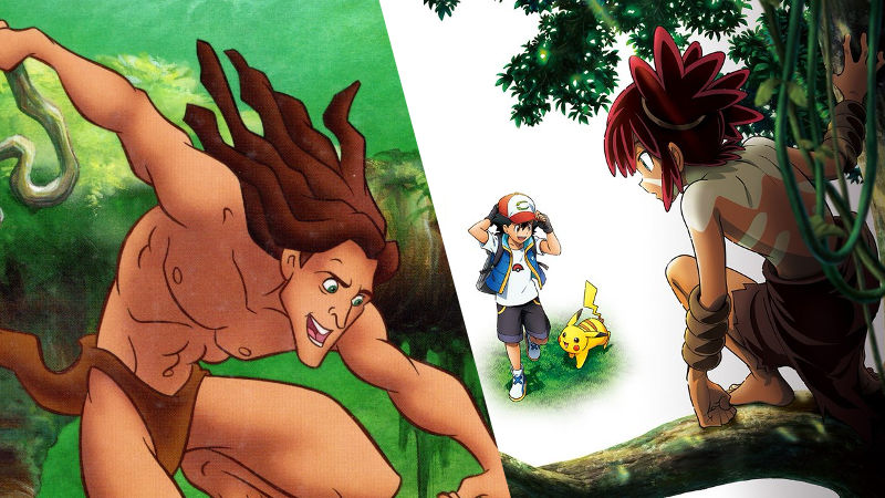 Pokémon: La nueva película estrena su primer trailer con una copia de Tarzán
