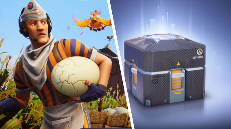 Fortnite-Lootboxes