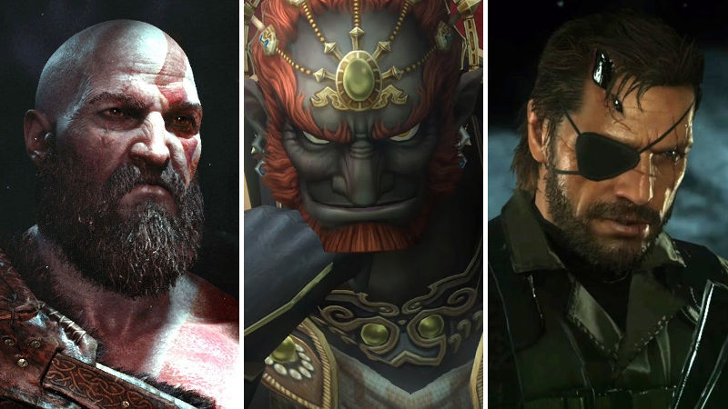 Así se verían Kratos, Snake y Ganondorf en Fortnite