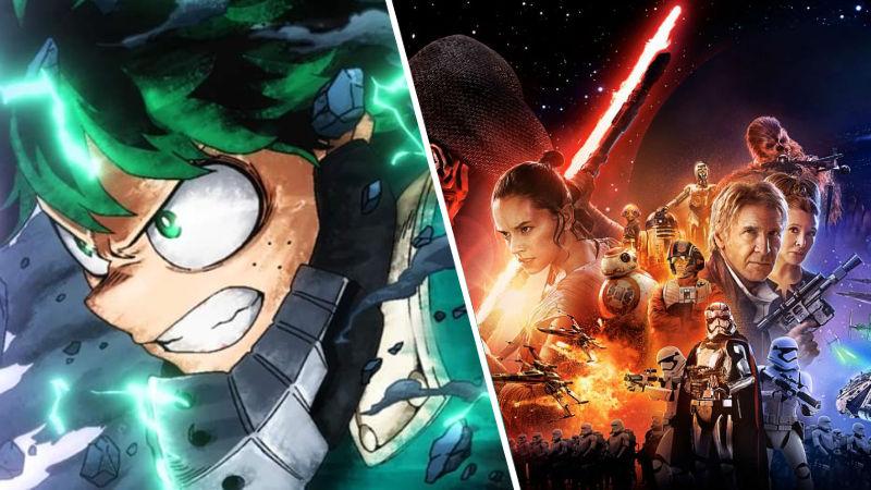 My Hero Academia agrega referencias a Star Wars