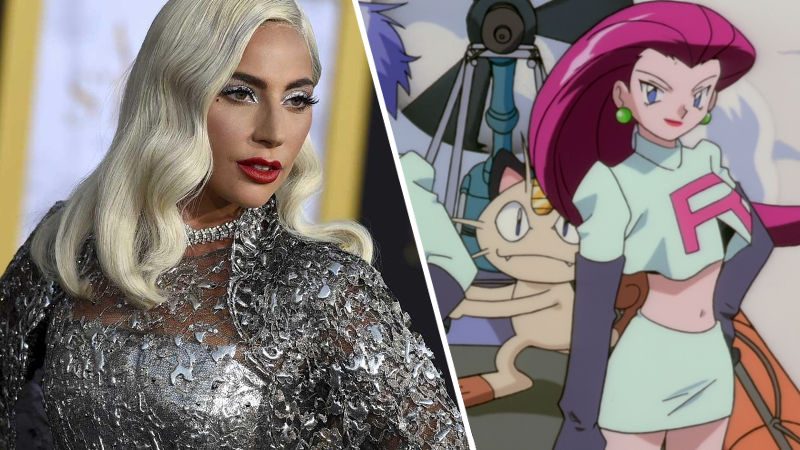 Pokémon: Lady Gaga se transformó en un miembro del Equipo Rocket