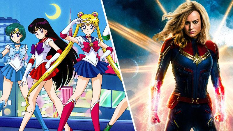 Mezclan a Sailor Moon y Capitana Marvel en un solo cosplay