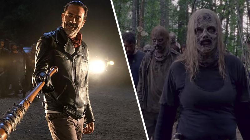 The Walking Dead sube su índice de audiencia con 'sexo zombi'