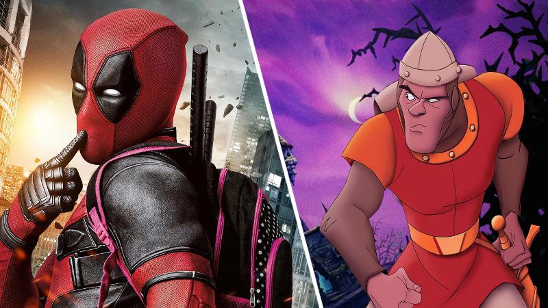 Actor de Deadpool estará en película de Dragon's Lair de Netflix