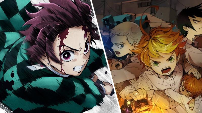 WTF? Kimetsu no Yaiba y The Promised Neverland se fusionaron en un extraño cosplay
