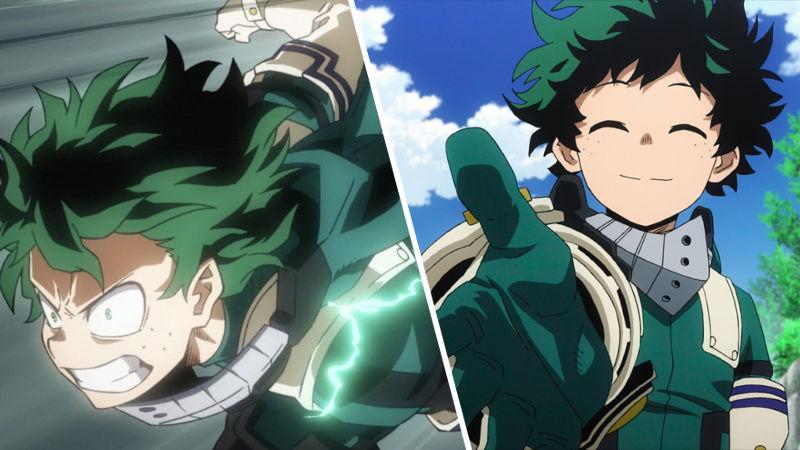 Deku de My Hero Academia cambia de sexo de nuevo con el cosplay