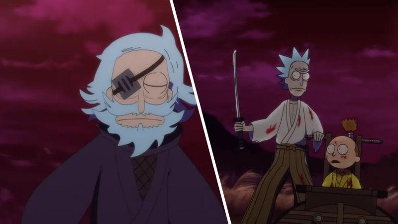 Rick y Morty se convierten en anime con corto animado
