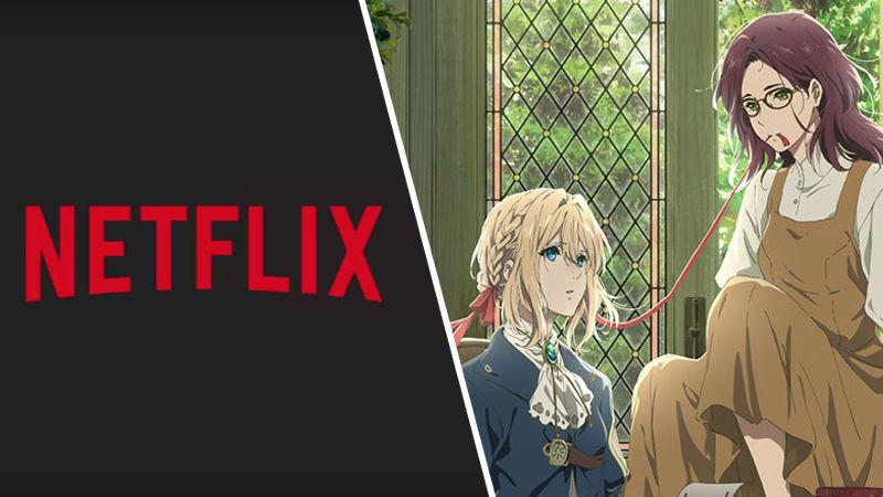 La película de Violet Evergarden llegará a Netflix en abril