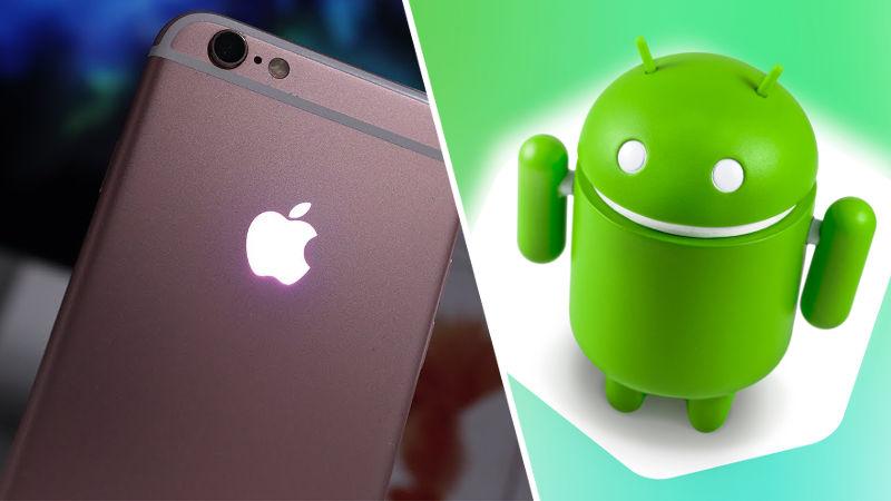 Apple toma 'prestadas' ideas de Android para iOS