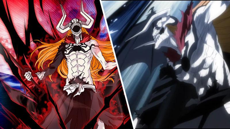 Hollow Ichigo de Bleach recreado con el cosplay