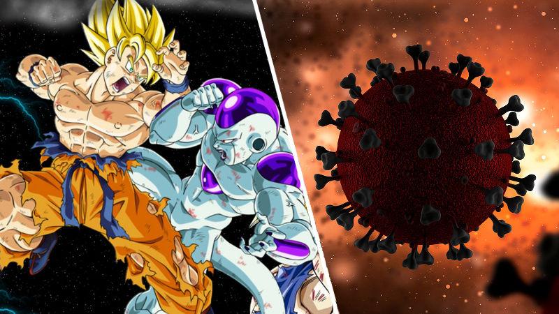 Meme de Dragon Ball Z se hace viral por la cuarentena del coronavirus