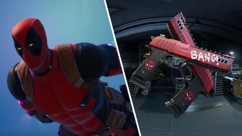 Encuentra las pistolas de Deadpool de forma fácil y rápida en Fortnite