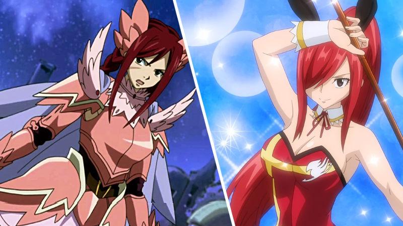 Erza Scarlet de Fairy Tail consigue su cosplay de 'conejita'