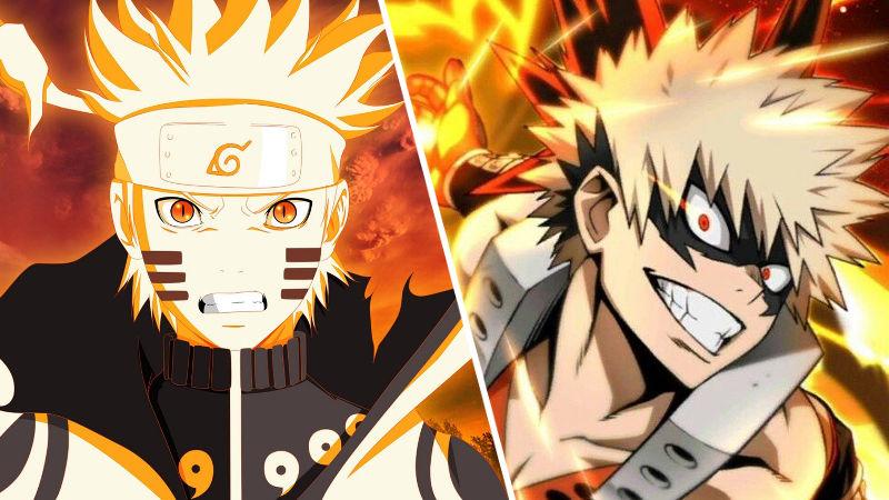 Artista mezcla My Hero Academia con Naruto y el resultado es sorprendente