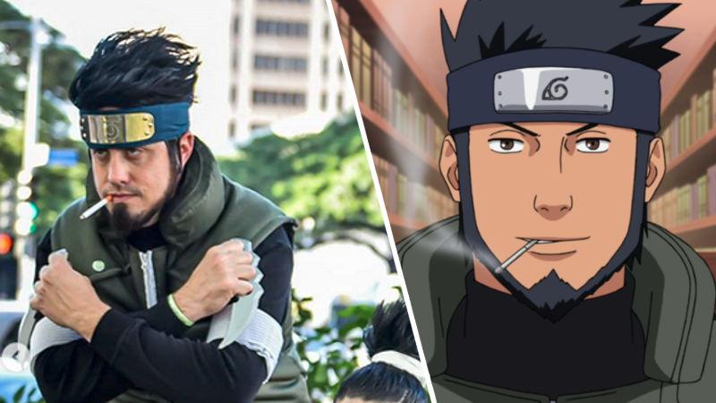 Asuma-sensei de Naruto está listo para el live-action