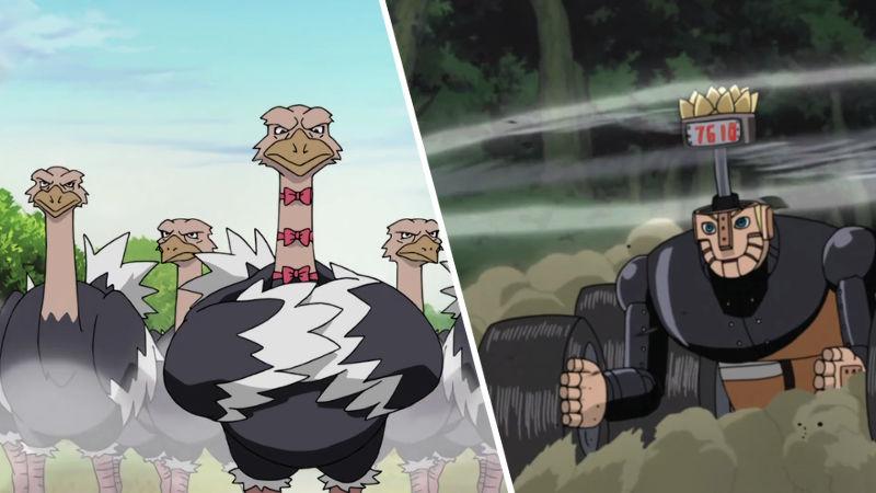 5 de los rellenos más apestosos de Naruto