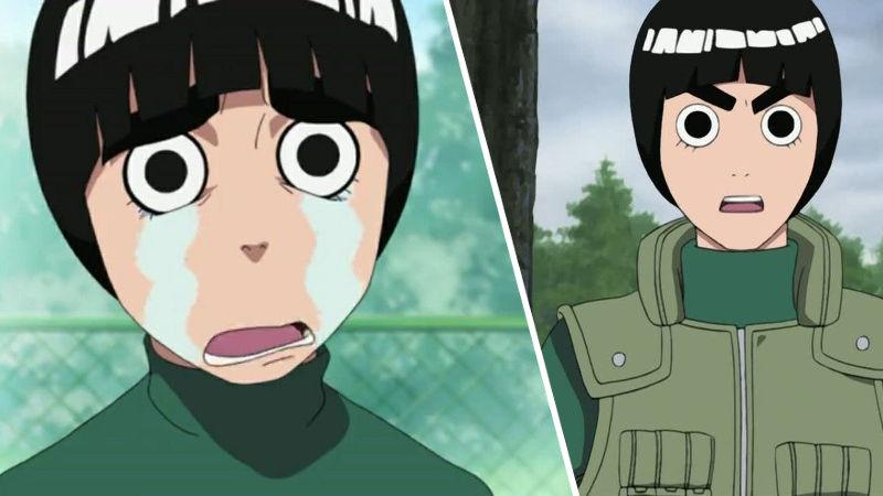 Un extraño cosplay de Rock Lee de Naruto como mujer