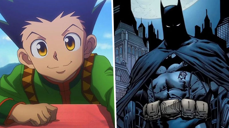 Batman y Hunter x Hunter
