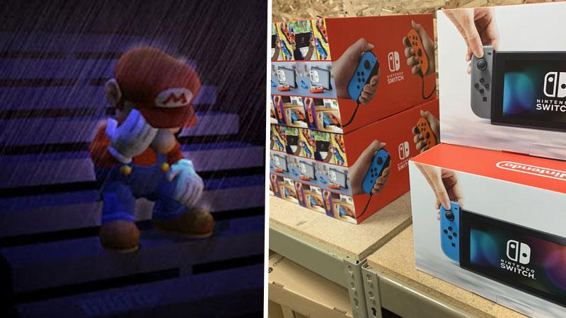 Nintendo Switch agotado