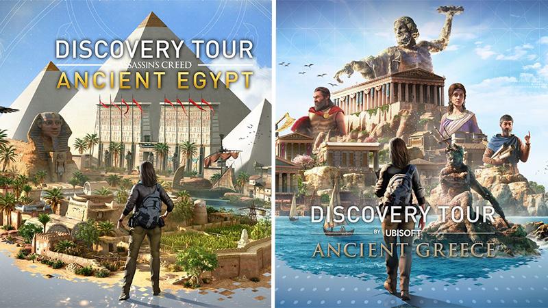 Ubisof regala los Discovery Tour de Assassin's Creed