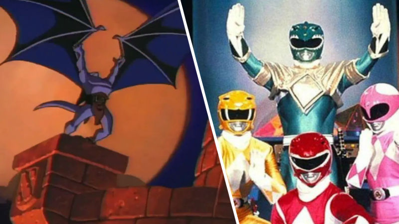 Power Rangers y OJ Simpson ayudaron a 'matar' a Gárgolas