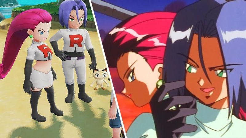 Jessie y James llegarán a Pokémon GO