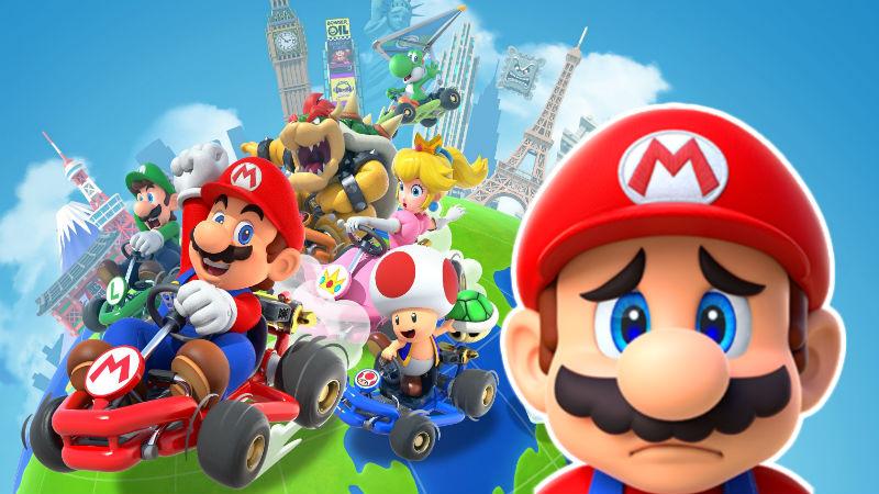 Imagen del juego de Nintendo para moviles, Mario Kart Tour