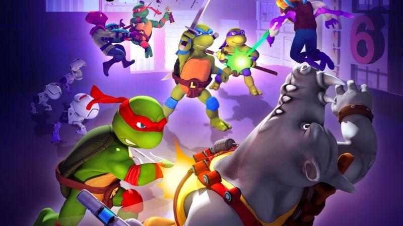 Portada del nuevo juego de Las Tortugas Ninja