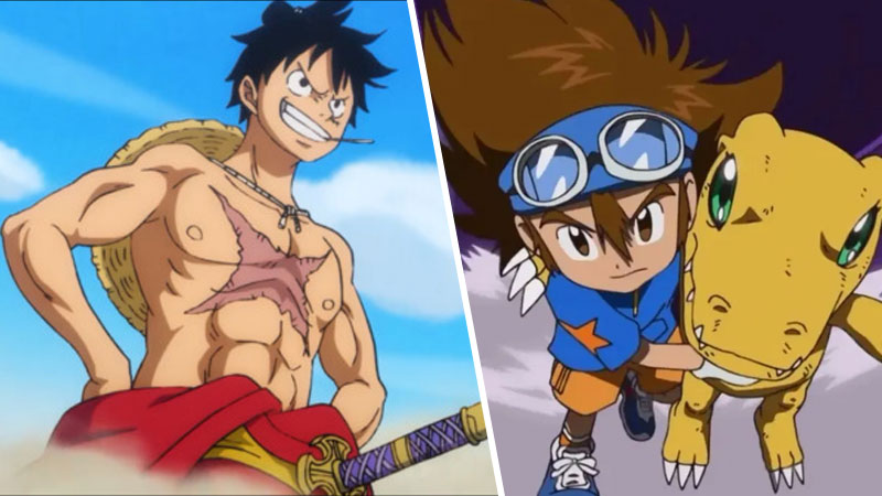 One Piece Digimon Adventure