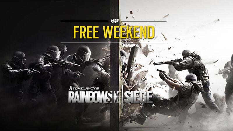 Fin de semana gratis para Rainbow Six Siege