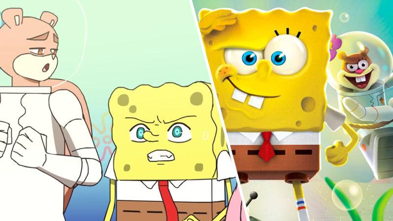 El anime de Bob Esponja estrena su primer episodio