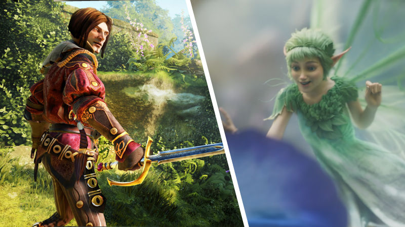 Imagen de Fable Legends con el nuevo Fable de Xbox