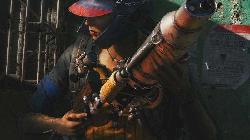 Lanzallamas en Far Cry 6