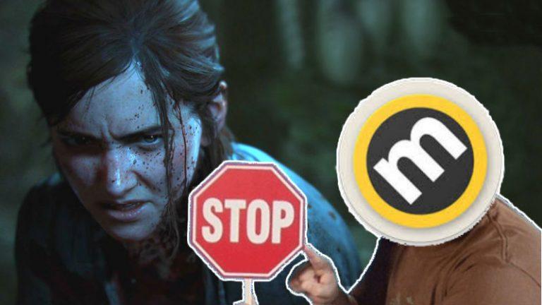 Metacritic con meme de Stop de Jack Black