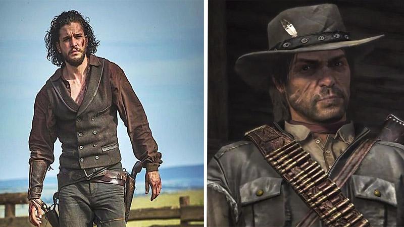 Realizan un tráiler live action de Red Dead Redemption con Kit Harington