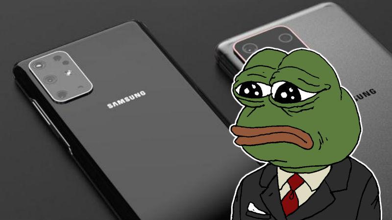 Samsung con Rana Triste