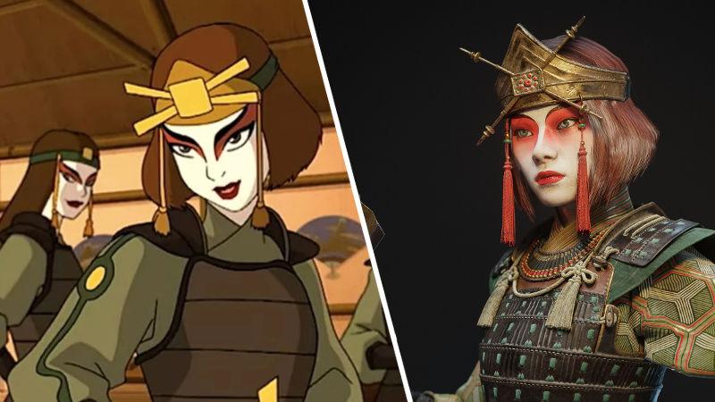 Suki de Avatar: La leyenda de Aang consigue gran diseño realista