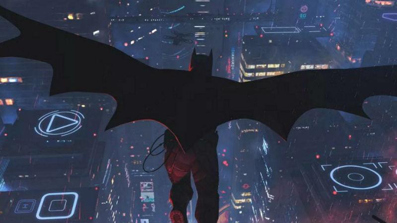 Batman negro Ilustracion