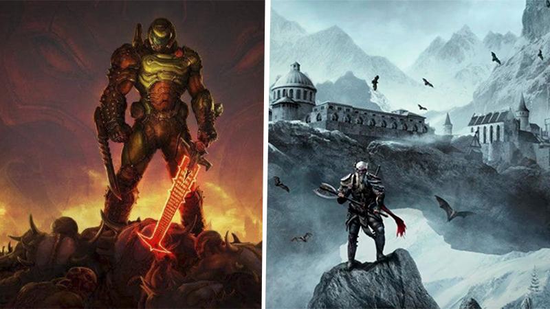 DOOM y The Elder Scrolls llegarán a PS5 y Xbox Series X