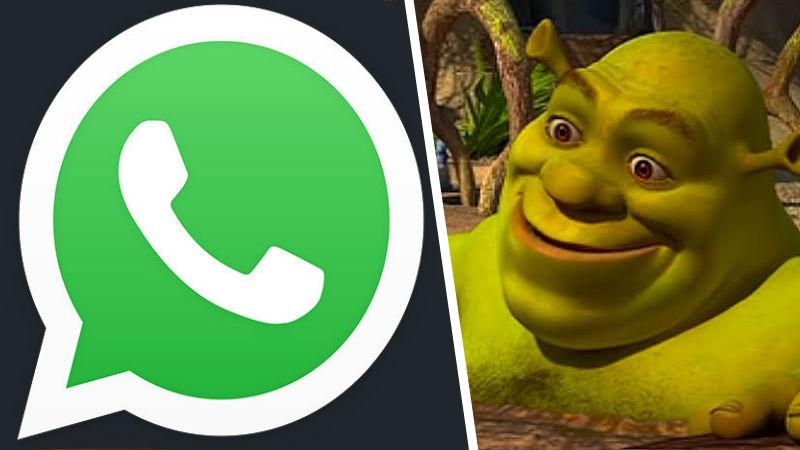 Shrek problemas con Whatsapp