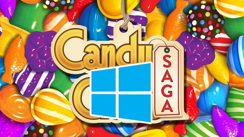 Windows 10 Candy Crush