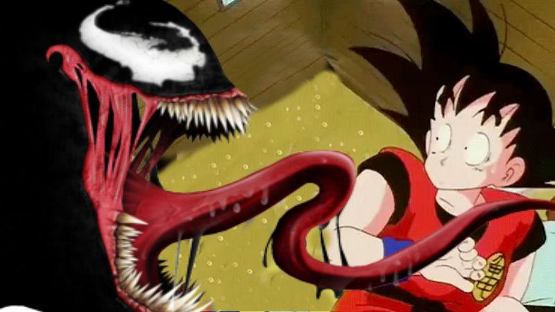 Dragon Ball con venom