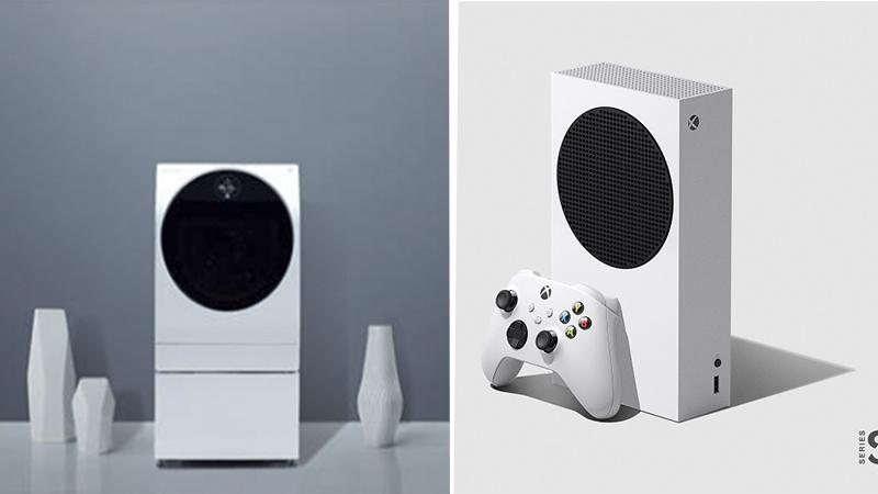 Comparan Xbox Series S con una lavadora de LG