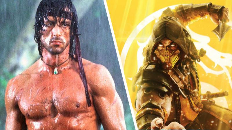 Rambo en Mortal Kombat 11