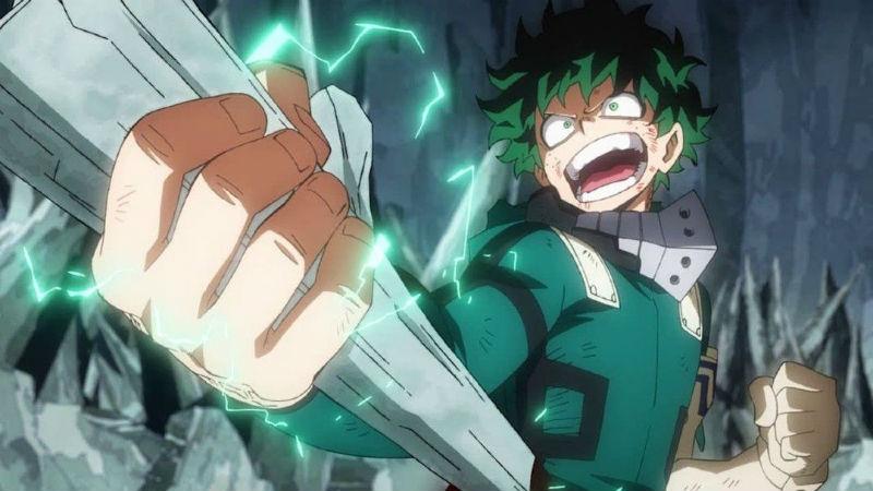 My Hero Academia Midoriya Quirk