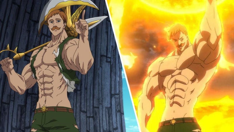 The Seven Deadly Sins: Escanor consigue un digno cosplay