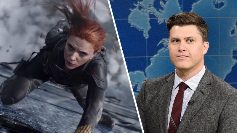 Mientras Black Widow está retrasada, Scarlett Johansson se casa