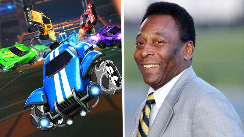 Rocket League celebra el 80 aniversario de Pelé