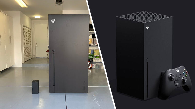 Xbox Series X ahora se vuelve un refrigerador