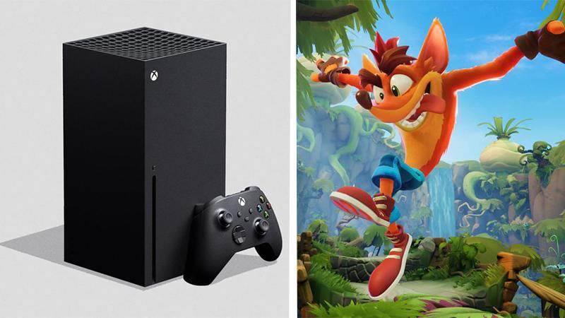 Se lista Crash Bandicoot 4 para Xbox Series X
